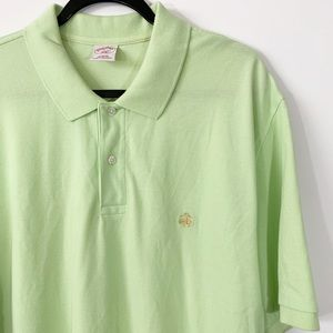 Brooks Brothers 346 . Polo Short Sleeve Shirt . XL